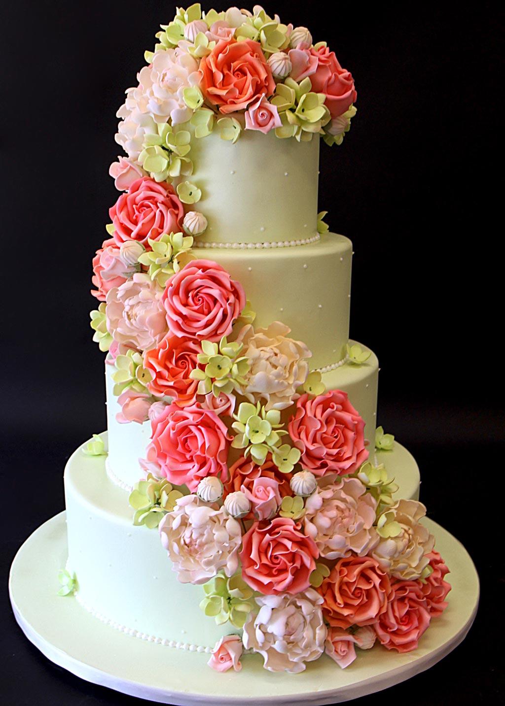 Ромашки букеты, как выкладывать каскадом цветы на торт