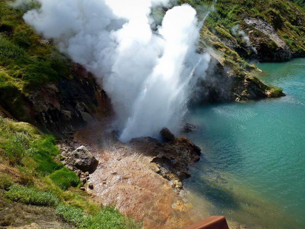 Долина гейзеров на Камчатке Дальнем Востоке России