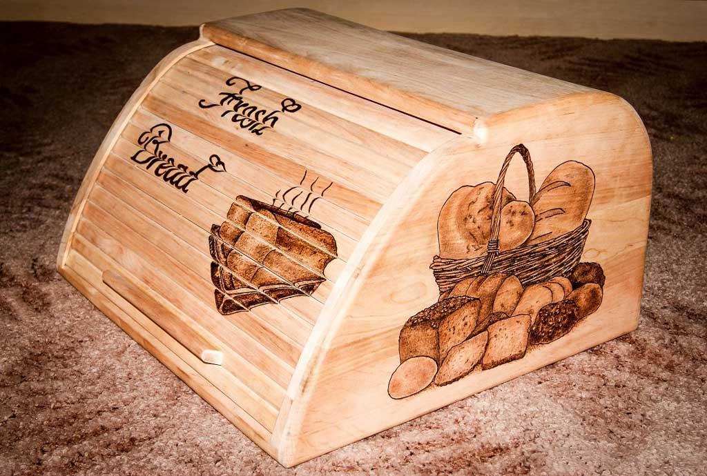 Хлебницы деревянные своими руками