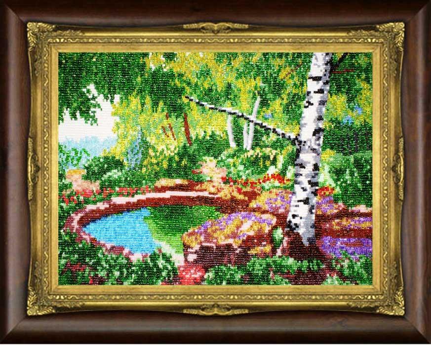Вышивка бисером картины своими руками фото 110