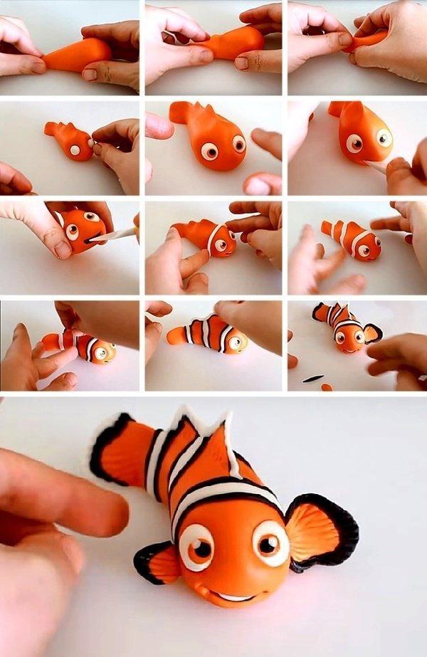 Поделки из пластилина для детей 9-10 лет фото