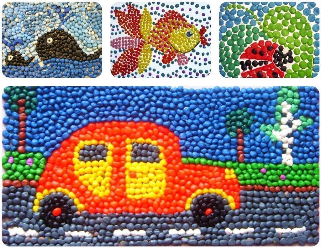 Мозаика своими руками для детей