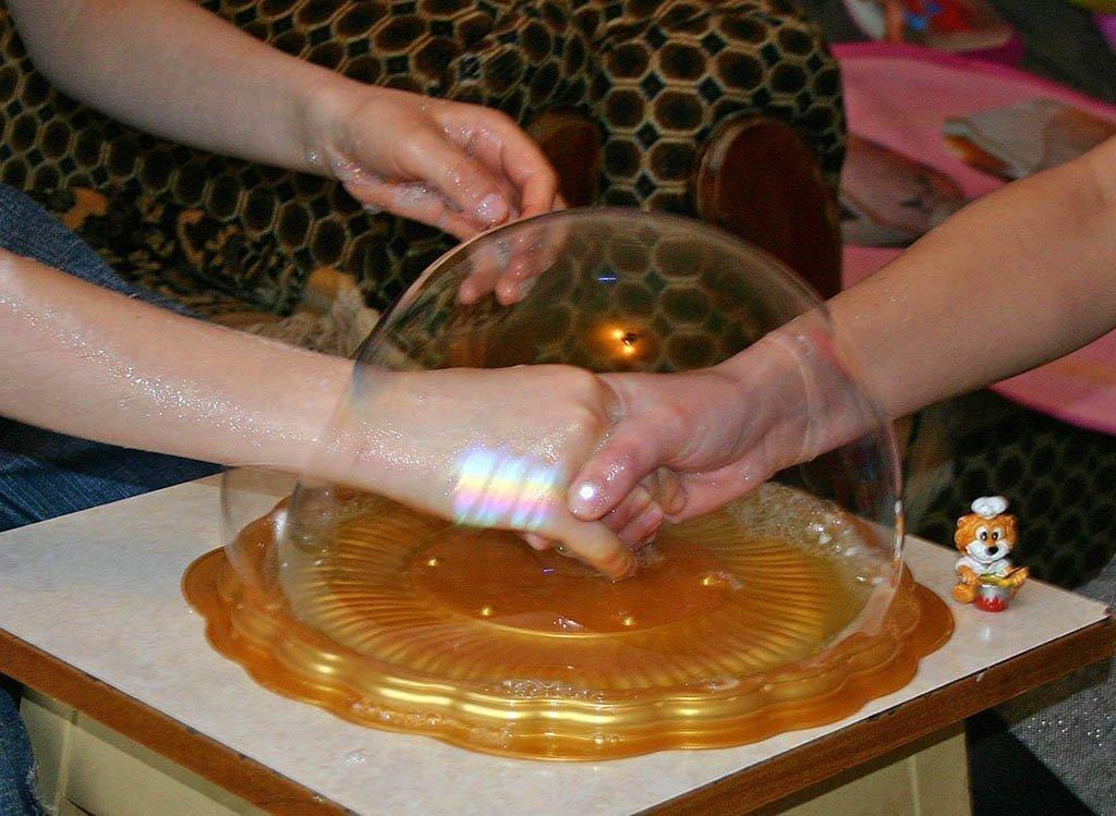 Мыльные пузыри как сделать раствор своими руками 31