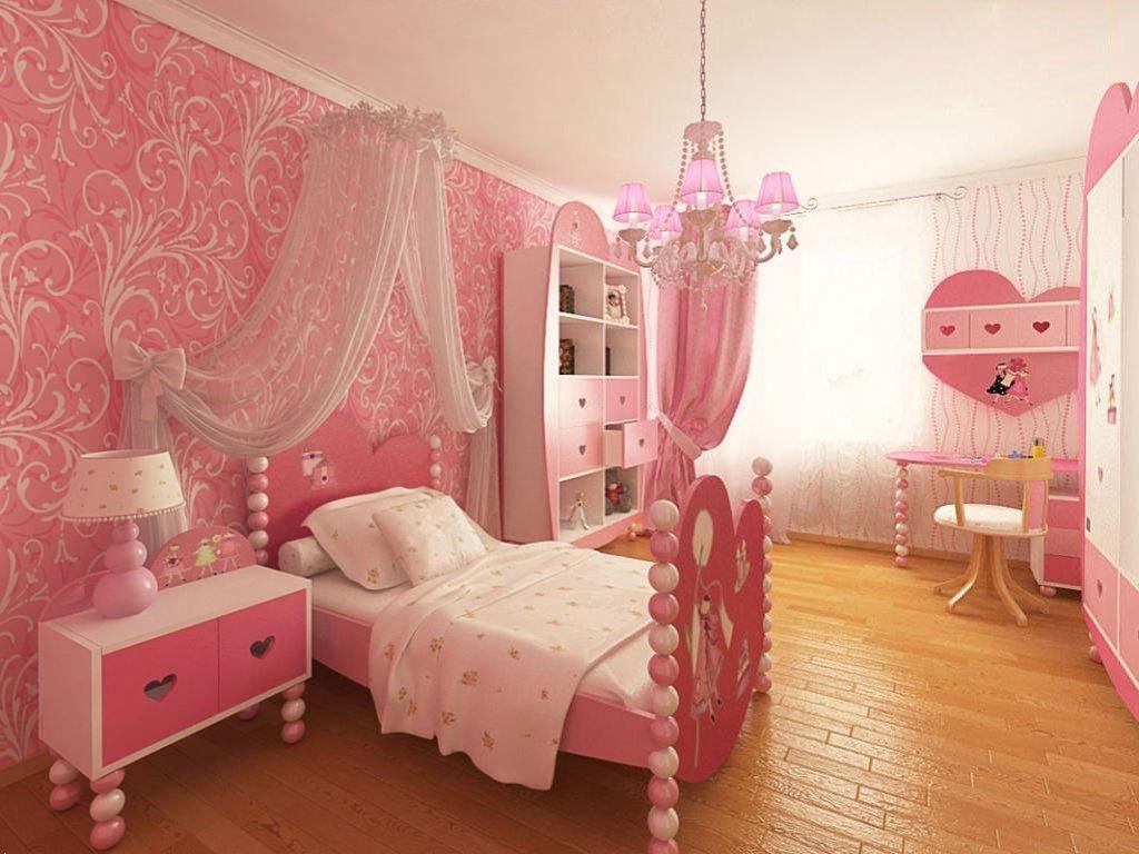 Дизайн спален для девочек