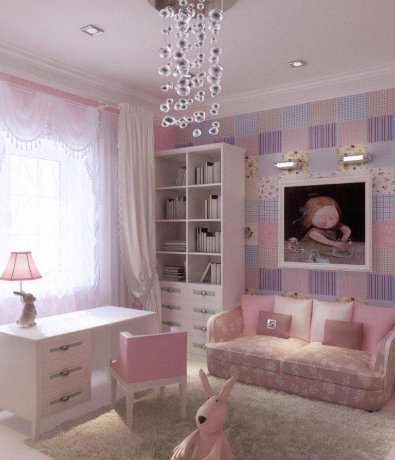 Дизайн комнат для девочек