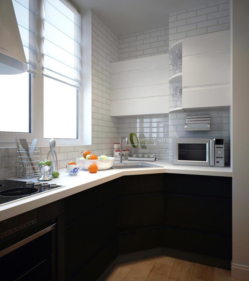 Фото дизайн кухни на лоджии