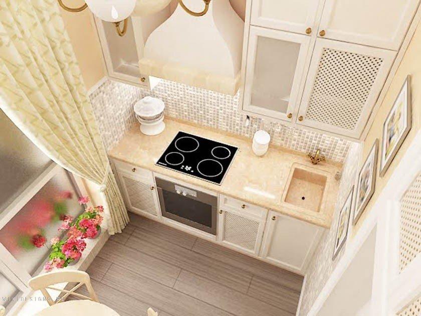 Идеи для очень маленькой кухни