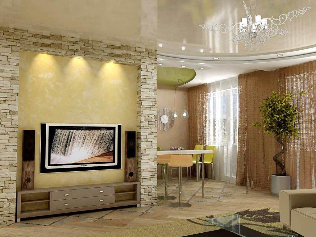 Фото камень в интерьере квартиры
