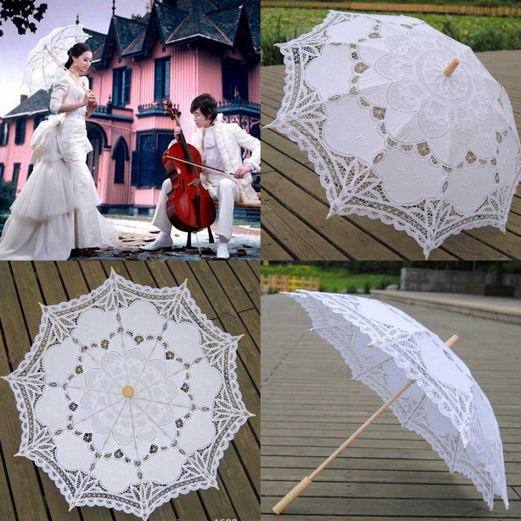 Свадебный зонт популярные модели 66