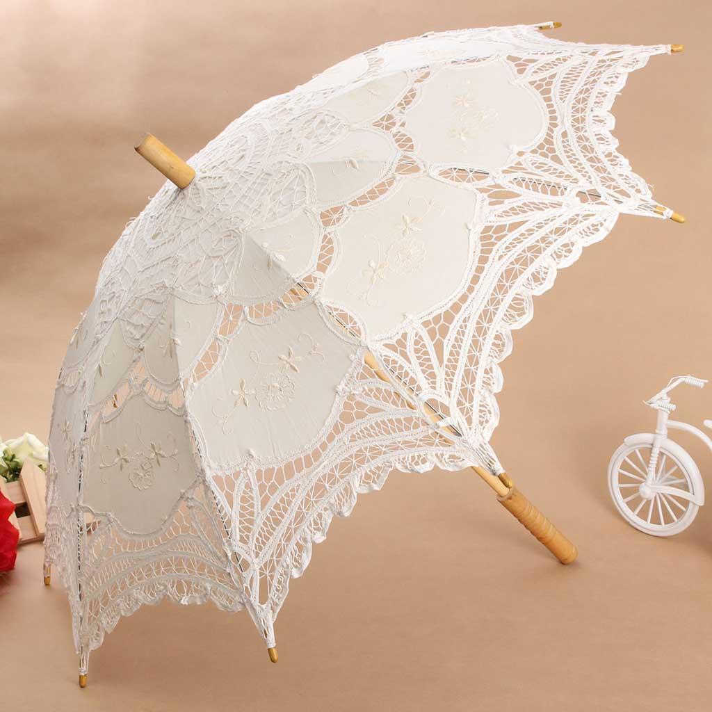 Как сделать свадебные зонты
